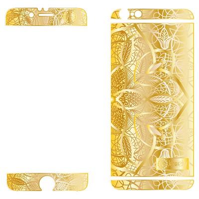 Золотая накладка KoJewelry для iPhone 6 Plus арт.4511