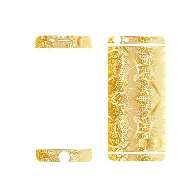 Золотая накладка KoJewelry для iPhone 6 арт.4512