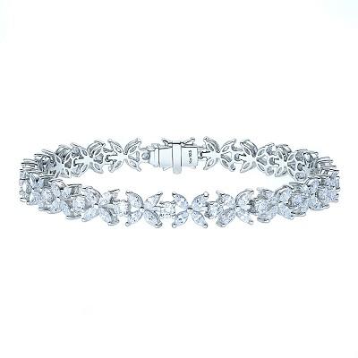 Браслет TENNIS FLOWERS серебро 925 KOJEWELRY™ 4831