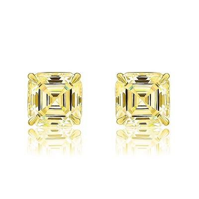 Золотые пусеты Ашер KOJEWELRY™ 5125