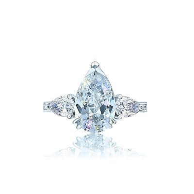 Золотое кольцо Капля KOJEWELRY™ 5067