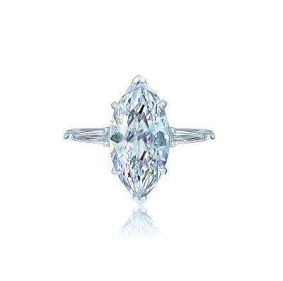 Золотое кольцо Маркиз KOJEWELRY™ 5069