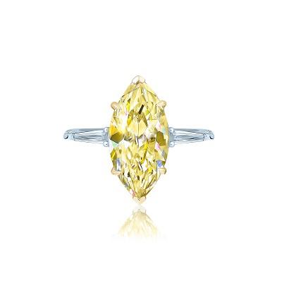 Золотое кольцо Маркиз KOJEWELRY™ 5070