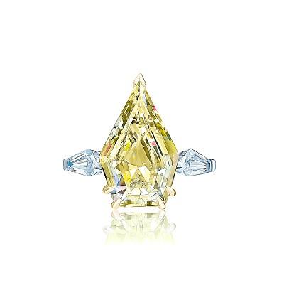 Золотое кольцо PENTAGON by KoJewelry 5045