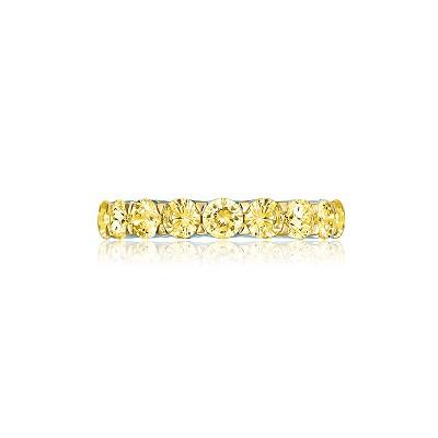 Золотое кольцо-дорожка огранки Круг KOJEWELRY™ 5080