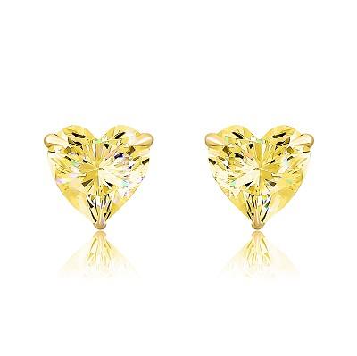 Золотые пусеты mini hearts KOJEWELRY™ G5123