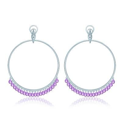 Серьги violet KoJewelry 40705