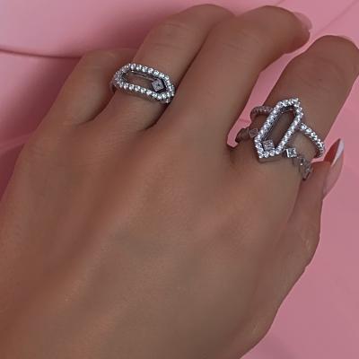 Кольцо Move me! серебро 925 KOJEWELRY™ 10200