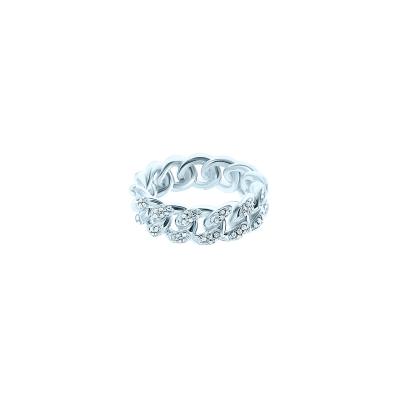 Кольцо PAVE CHAINS серебро 925 KOJEWELRY™ 20200