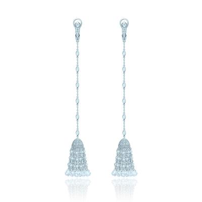 Серьги Кисточки Luxury серебро 925 KOJEWELRY™ 41800