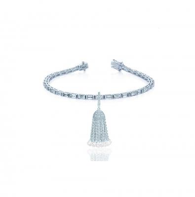 Браслет Кисточка серебро 925 KOJEWELRY™ 50700