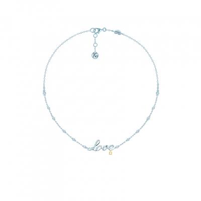 Колье Love серебро 925 KOJEWELRY™ 20300