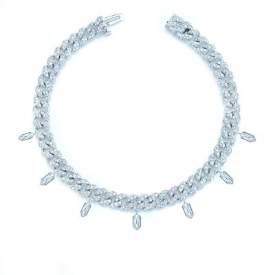 Браслет Mini Pave links с шестигранниками KOJEWELRY™ 610015