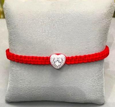 Браслет плетёный Heart серебро 925  KOJEWELRY™  610028