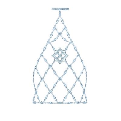 Слейв-браслет HYDRANGEA (Гортензия) серебро 925 KOJEWELRY™ 63800