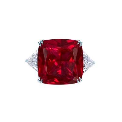 Кольцо Icon с камнем цвета РУБИН серебро 925 KOJEWELRY™ 30106