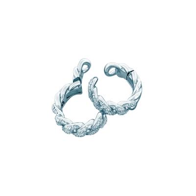 Кафф PAVE CHAINS серебро 925 KOJEWELRY™ 21800
