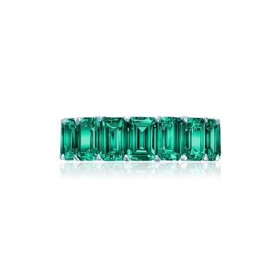 Кольцо-дорожка огранки Изумруд серебро 925 KOJEWELRY™ 30602