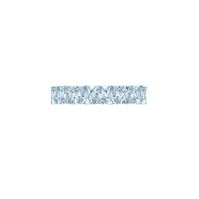 Кольцо-дорожка огранки Сердце серебро 925 KOJEWELRY™ 30700