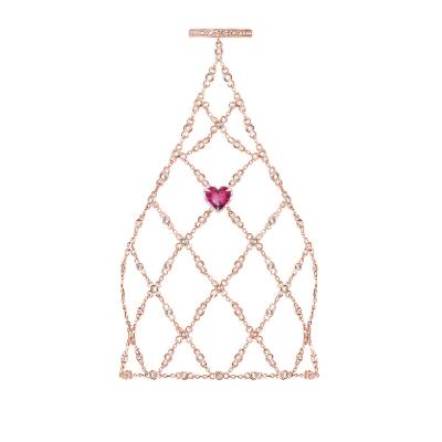 Слейв-браслет Heart серебро 925 KOJEWELRY™ 30826R / 5