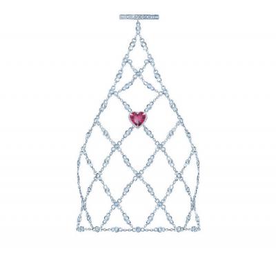Слейв-браслет Heart серебро 925 KOJEWELRY™ 30806