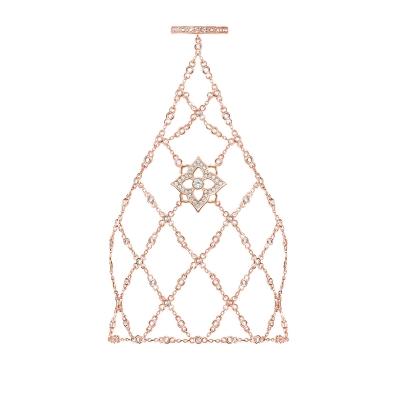 Слейв-браслет Гортензия (HYDRANGEA) серебро 925 KOJEWELRY™ 63820R / 5