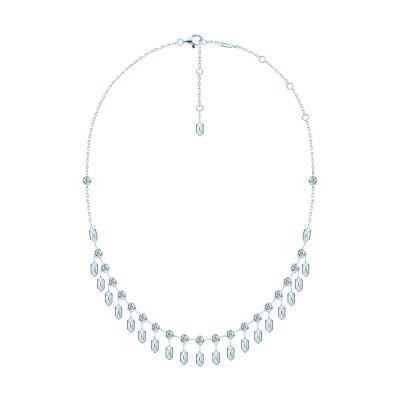 Колье с шестигранниками HEXAGON , серебро 925. KOJEWELRY™ 610062