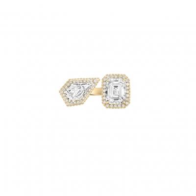 Кольцо Moi et Toi серебро 925 KOJEWELRY™ 610104