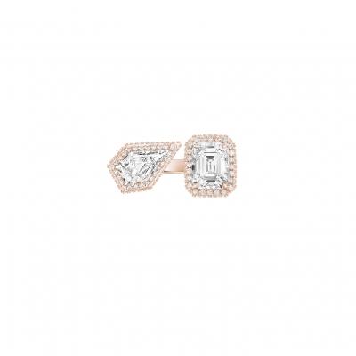 Кольцо Moi et Toi серебро 925 KOJEWELRY™ 610106