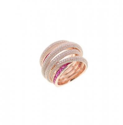 Кольцо WEAVE серебро 925 KOJEWELRY™ 610175