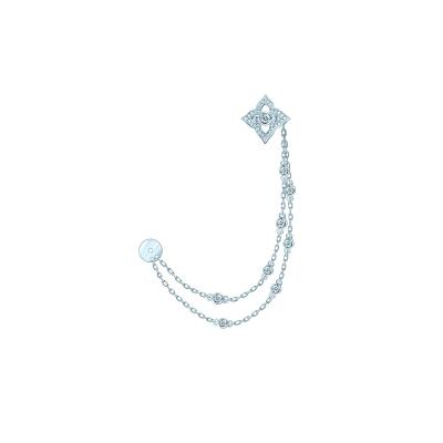 Съёмный кафф HYDRANGEA серебро 925 KOJEWELRY™ 610218