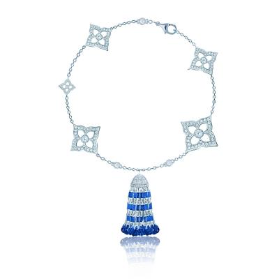 Браслет Гортензия (HYDRANGEA) с Кисточкой серебро 925 KOJEWELRY™  610230