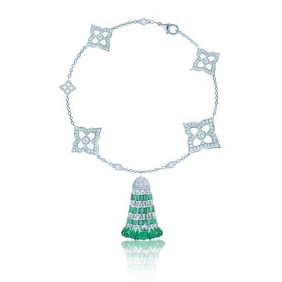 Браслет Гортензия (HYDRANGEA) с кисточкой серебро 925 KOJEWELRY™ 610235