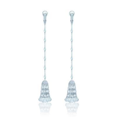 Серьги Luxury с Кисточками серебро 925 KOJEWELRY ™  610237
